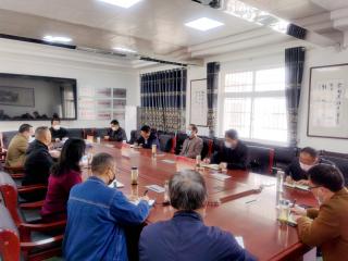 潢川县教体局领导调研指导疫情期间学校工作