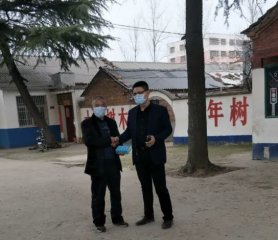 汝南县老君庙镇中心小学手机助学情暖心