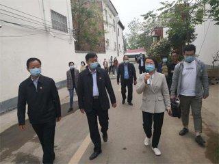 河南省生态环境厅副厅长王朝军莅临汝州市米庙镇调研