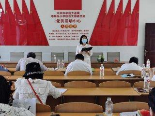 中牟县大孟镇精心准备迎接中小学复课开学