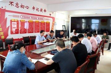 潢川县教体局迅速传达县防溺水紧急工作会议精神