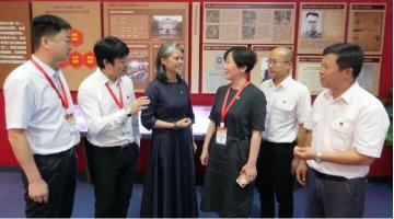 中国东方航空集团公司组织领导干部在大别山干部学院学习培训