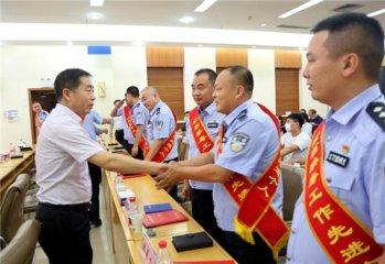 """郸城公安民警史金鹏被评为""""全省禁毒工作先进个人"""""""
