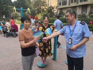 郑州市二七区开展散煤治理宣传排查活动