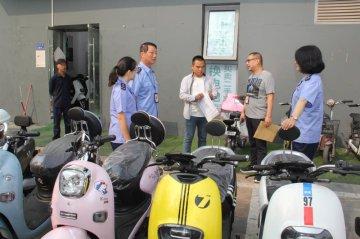 郑州市二七区市场监管局开展电动自行车市场专项整治行动