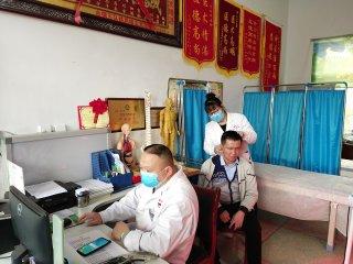 汝南县金铺镇卫生院李付华是偏瘫患者的福星