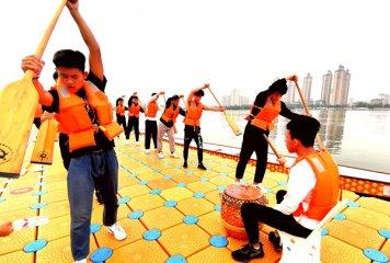 中国名校龙舟邀请赛17日在临沂开赛