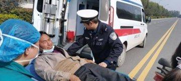 """杞县公安交警大队深入开展""""警医合作""""开辟交通事故救援""""绿色通道""""受到群众好评"""