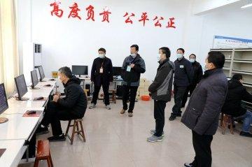 河南省招办领导赴潢川县巡视普通高中学业水平考试工作