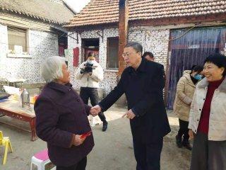 驻马店市委市民政局领导赴汝南走访慰问困难群众