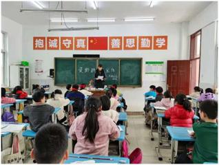 中牟县枣林朱小学展开资助政策宣传活动