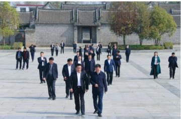 """汝南县开展""""学党史、寻足迹、守初心、担使命""""主题教育活动"""