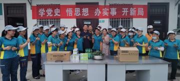 """汝南县邮政公司举办""""端午节・粽香情""""包粽子活动"""