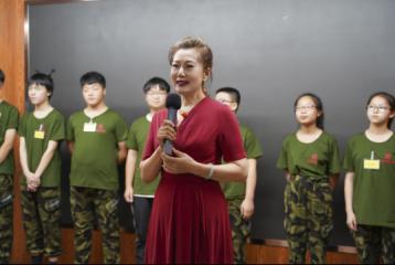 河南青少年素质发展中心暑期青少年训练营完美收官