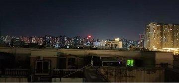 中秋节:郑州夜色美景如画